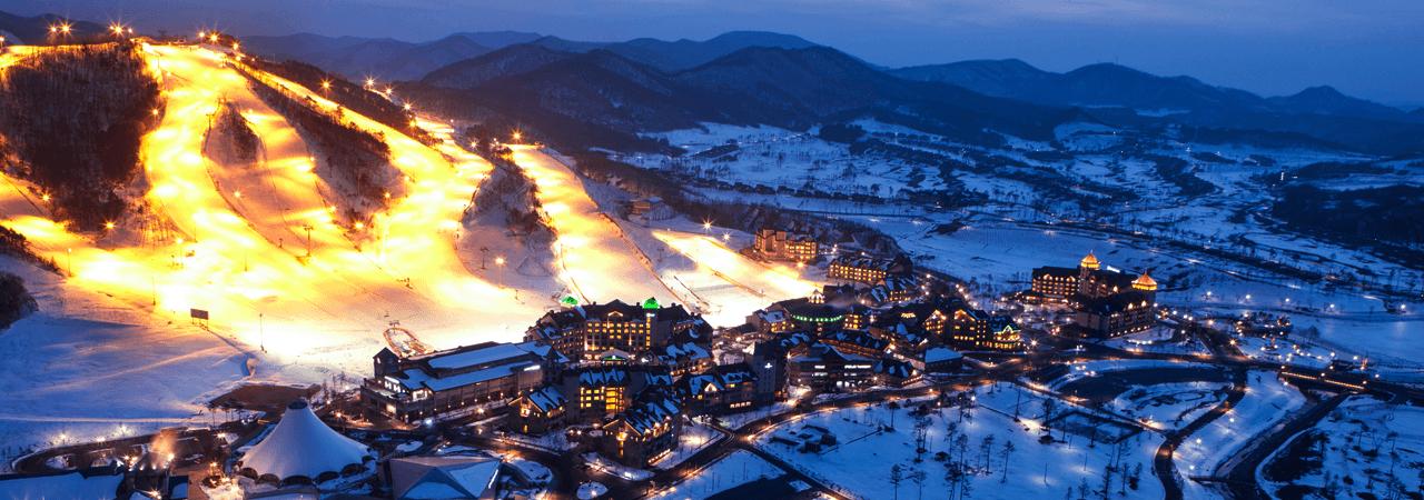 Provinsi Gangwondo Olahraga musim dingin, festival, dan bentang alam bisa kamu temukan di sini!