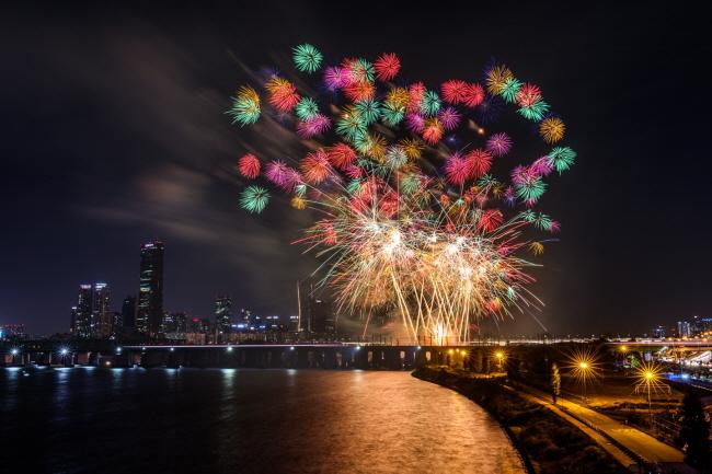 Festival Kembang Api Internasional Hanhwa Seoul
