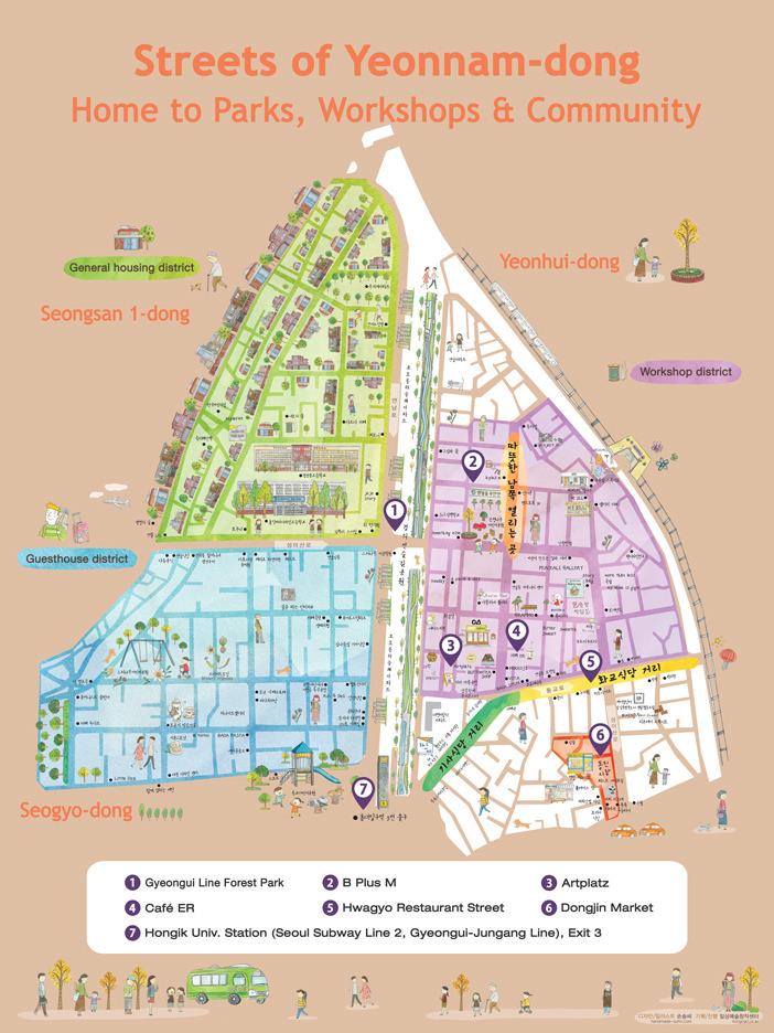 Menelusuri Daerah Yeonnam-dong, Tempat Paling Kekinian di Seoul