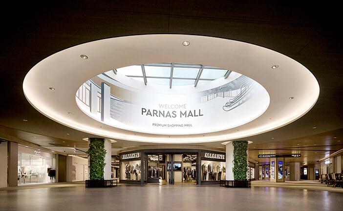 Pusat Perbelanjaan di Area Metropolitan