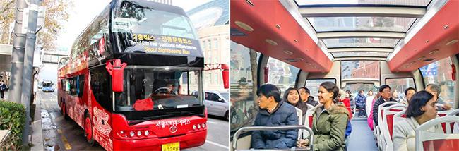 Pembukaan Baru Bus Tingkat di Seoul