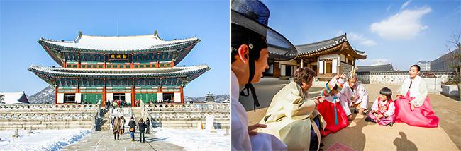 Selama Seollal, Istana dan Makam Kerajaan Gratis Masuk
