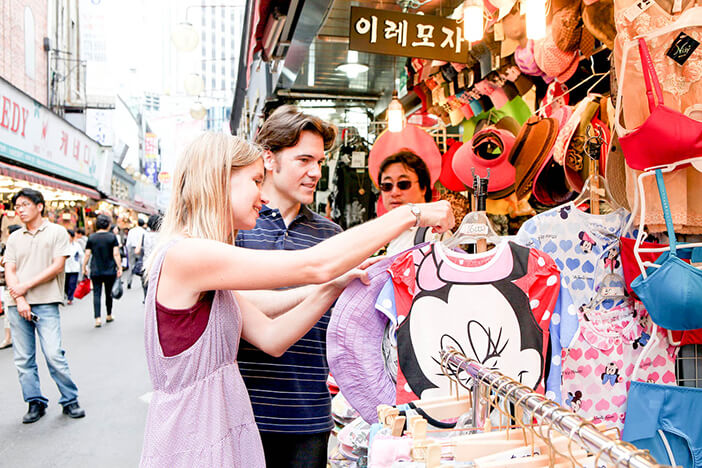 Pasar Tradisional Korea