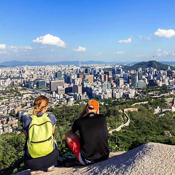 Hiking di Sekitar Seoul