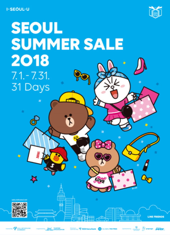 Seoul Summer Sale Berlangsung hingga 31 Juli 2018