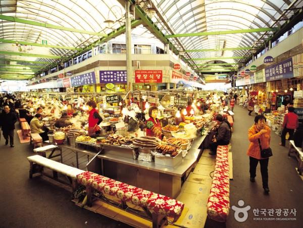 GwangJang Market, Seoul