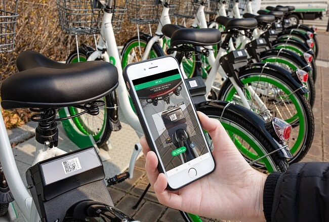 Gunakan Kode QR untuk Pinjam Sepeda di Seoul