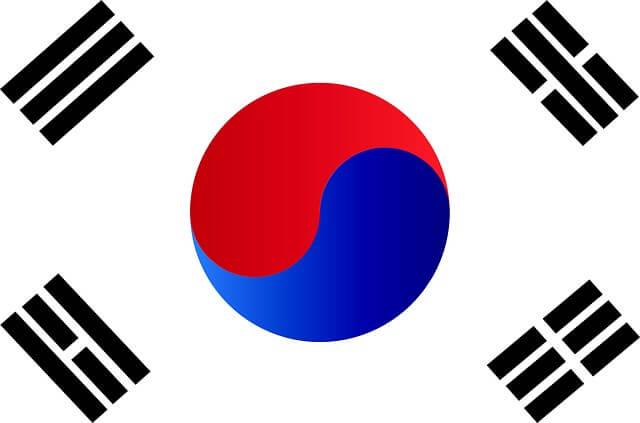 Bendera National Korea
