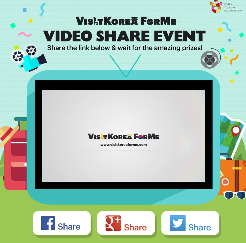 Visit Korea For Me Video Share Event