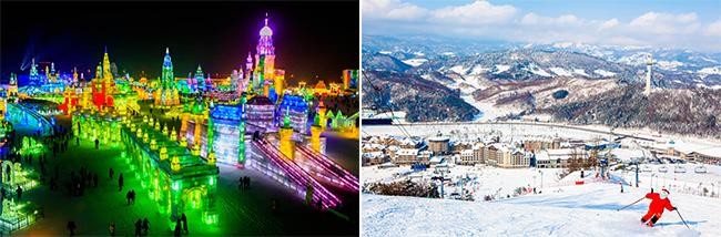 Menikmati  Es & Dunia Salju Harbin di Pyeongchang!