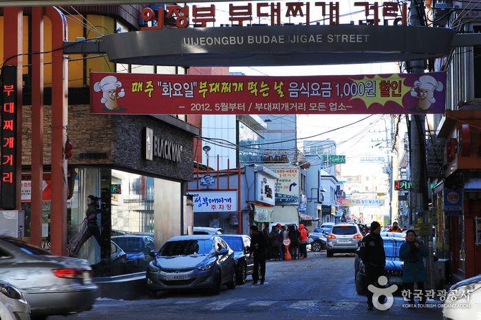 Uijeongbu Budaejjigae Street