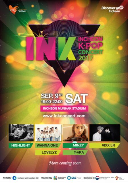Nikmati Incheon K-Pop Concert 2017 pada 9 September 2017