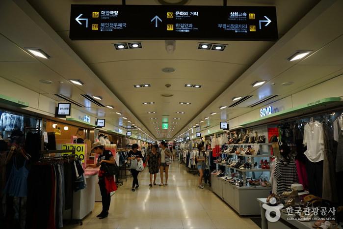Bupyeong Underground Shopping Mall