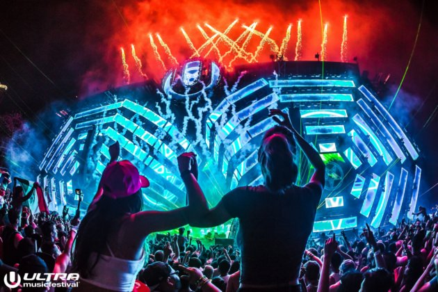 Festival Ultra Music Korea 10-12 Juni