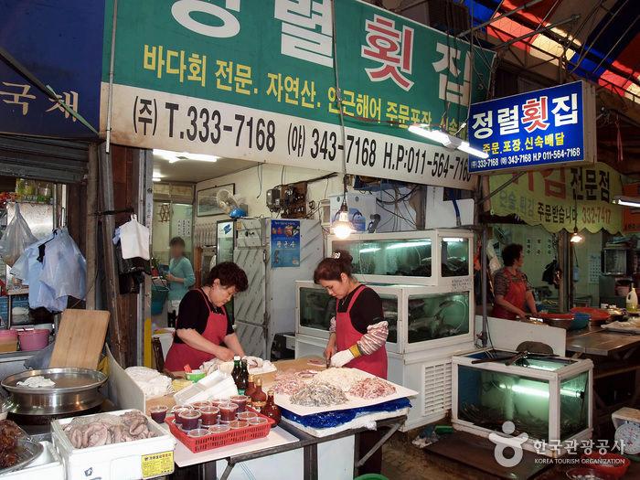Restoran Jeongnyeol Hoetjip