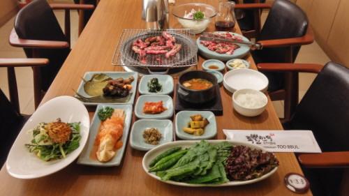 Restoran BBQ Korea Toobbul
