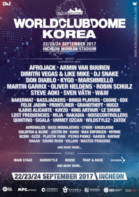 Lineup Tambahan untuk BigCityBeats World Club Dome Korea 2017