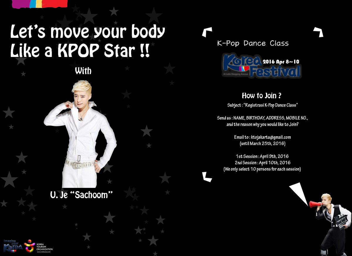"K-Pop Dance Class ""Let's Move Your Body Like a KPOP Star!!"""