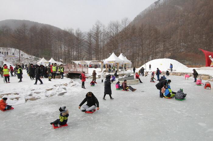 Festival Salju Gunung Taebaek