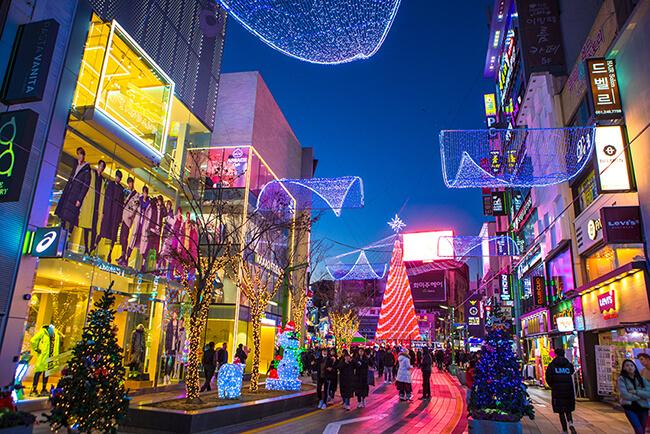 Busan Bersiap Menyambut Natal