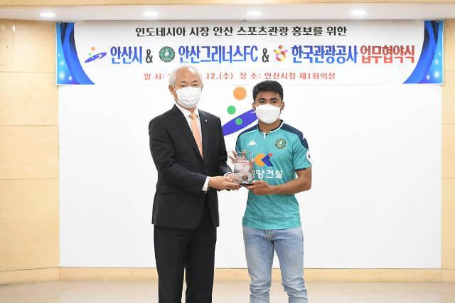 KTO Menggandeng Asnawi Mangkualam untuk Mempromosikan Pariwisata Korea