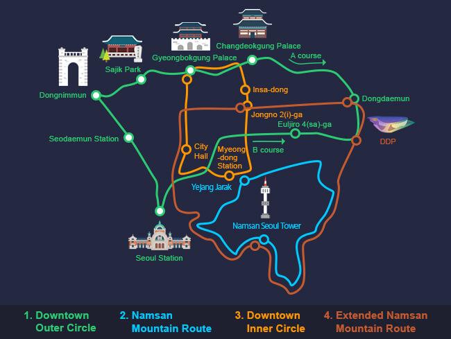 Seoul Mulai Mengoperasikan Bus Sirkulasi Hijau