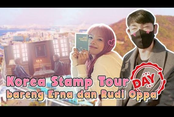 Tapak Tilas Drama Goblin + ke Restoran JONGKOOK & HAHA RUNNING MAN !! [KOREA STAMP TOUR - EP 01]