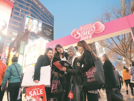 """Festival Wisata Belanja, """"Korea Grand Sale"""" akan segera diselenggarakan untuk Wisatawan Asing"""