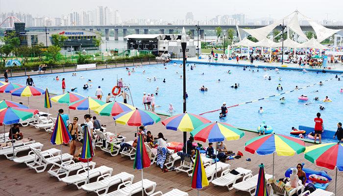 Supia Outdoor Pool di Yeouido