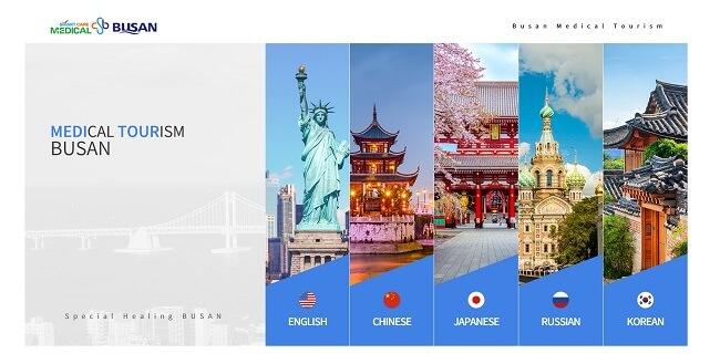 Situs Web Pariwisata Medis Busan Diperbaharui