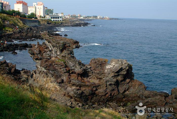 Bebatuan Yongduam di Jeju
