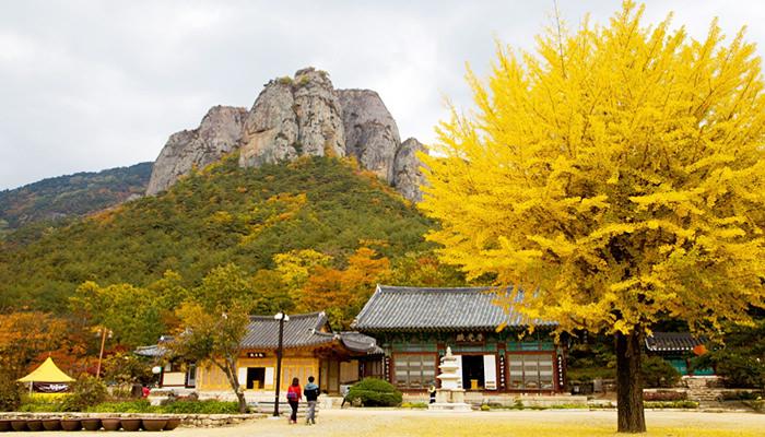 Gunung Juwang di Cheongsong, Gyeongsangbuk-do