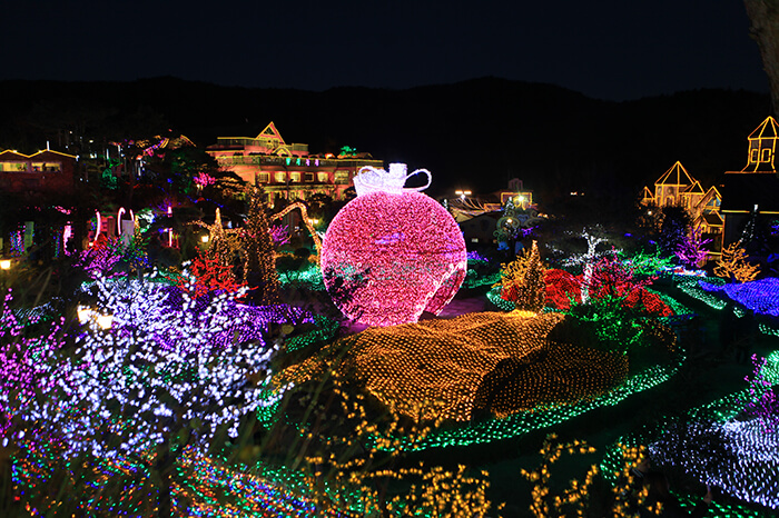 Festival Cahaya Pulau Herb (허브아일랜드 불빛동화축제)