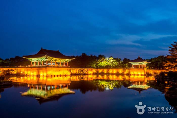Istana Gyeongju Donggung dan Danau Wolji