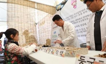 Festival Budaya Obat Herbal Yangnyeongsi Seoul (서울약령시 한방문화축제)