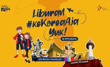 E-BOOK: LIBURAN #KEKOREAAJA YUK!