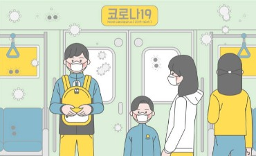 Penggunaan Masker Diwajibkan untuk Transportasi Umum di Korea