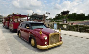 Wisata Kereta Benteng Hwaseong