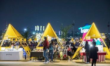 Pasar Malam Bamdokkaebi Seoul Dibuka Secara Online