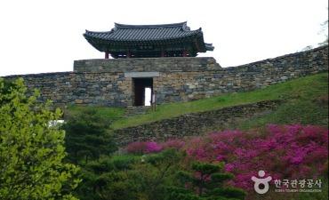 Benteng Gongsanseong Gongju [Warisan Dunia UNESCO] (공주 공산성 [유네스코 세계문화유산])