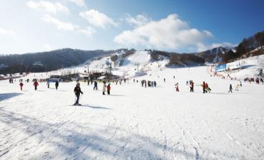 Musim Dingin di Provinsi Gangwon