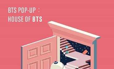 "Toko Pop-up BTS ""House of BTS"" akan Segera Dibuka"
