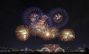Festival Kembang Api Internasional Seoul 2018