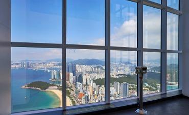Nikmati Pemandangan Pantai Kota dari BUSAN X the SKY