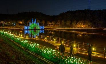 Festival Cahaya Grand Park Ulsan (울산대공원 빛 축제)