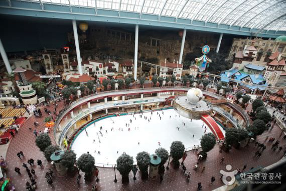 Arena Ice Skating dalam Ruangan, Lotte World