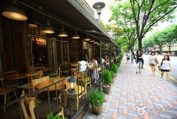Street Cafe  di  Bundang Jeongja-dong