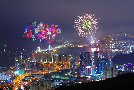 Busan International Fireworks Festival 2017