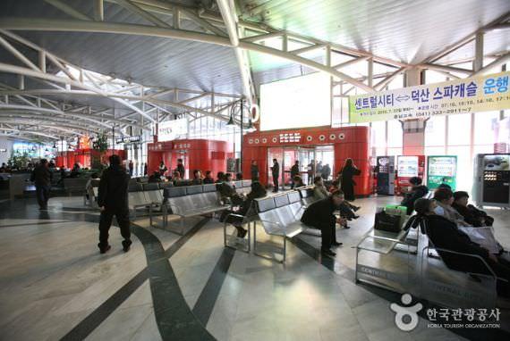 Terminal Bus Ekpres Pusat Kota Seoul (Jalur Honam)
