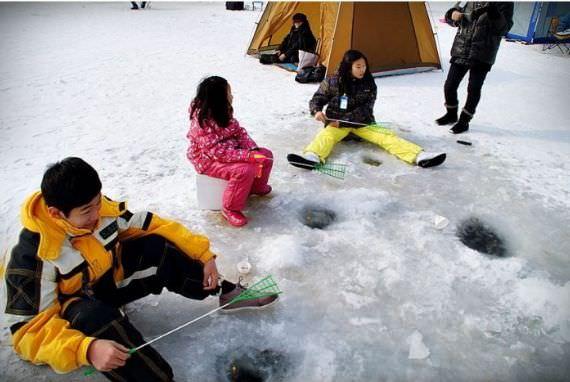 Festival Memancing Musim Dingin Anseong